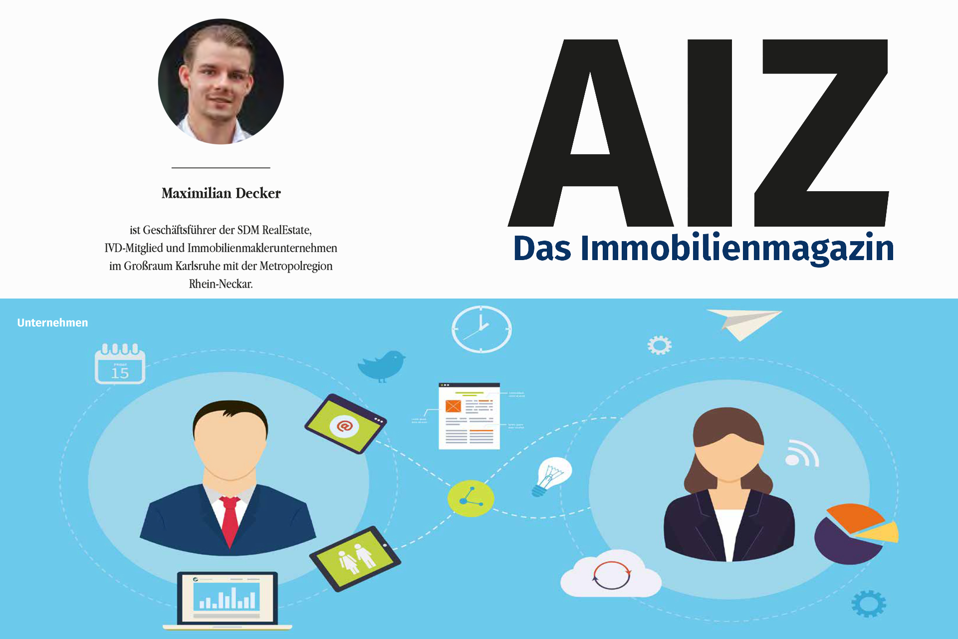 AIZ - Digitalisierung vs Beratungsqualität - SDM RealEstate