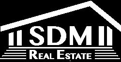 SDM RealEstate Logo weiß transparent